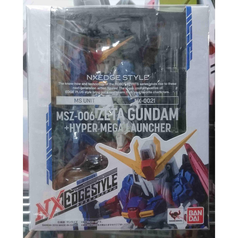 NXEDGESTYLE Z鋼彈&超巨型雷射,益祥模型玩具外盒實拍照片。