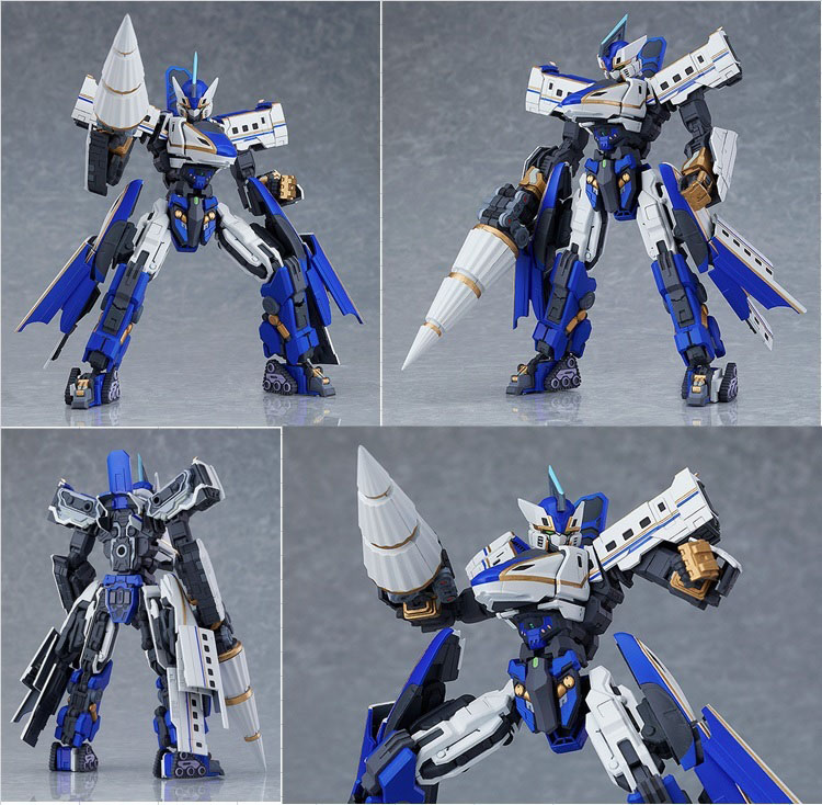 MODEROID Shinkalion E7光輝號 官方圖片,益祥模型玩具排版。