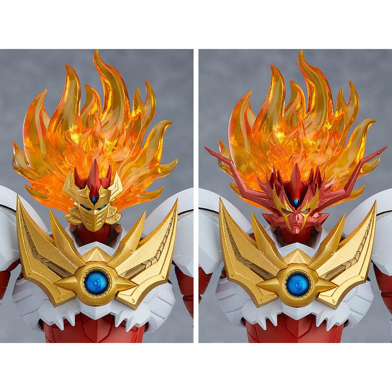 MODEROID 魔神凱撒雷牙 組裝模型,官方圖片。