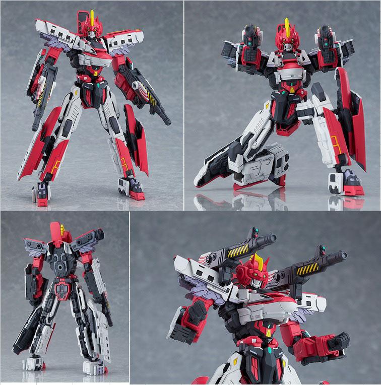 MODEROID Shinkalion E6小町號 官方圖片,益祥模型玩具排版。