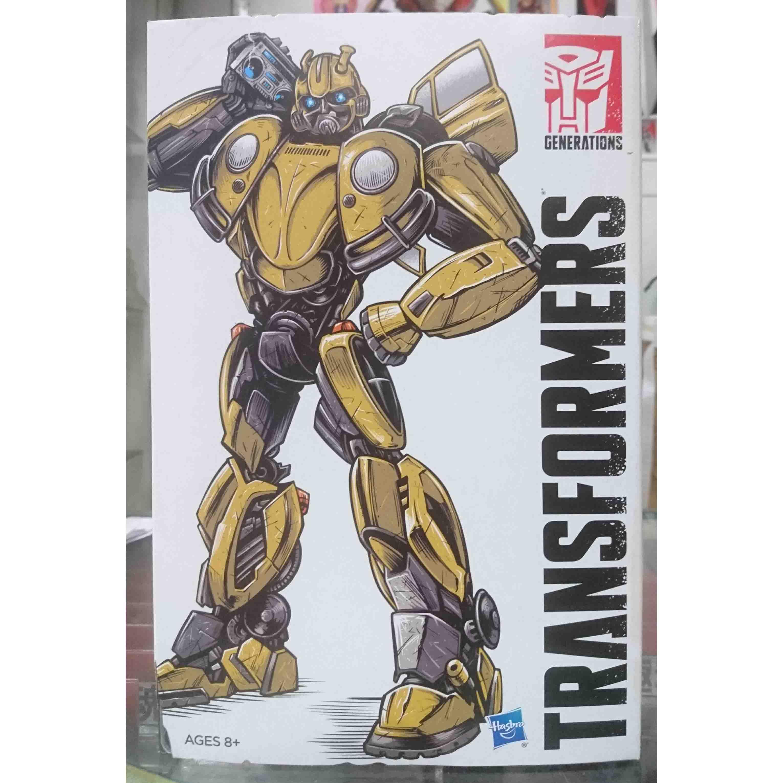 變形金剛世代系列HASCON限定品 大黃蜂 金龜車,益祥模型玩具 外盒實際拍攝照片。
