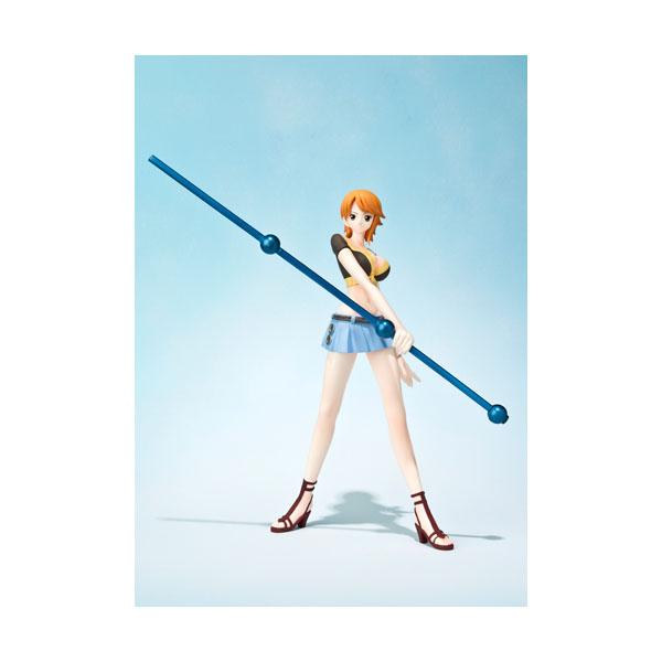 Figuarts Zero 海賊王 航海王 娜美 對戰版,官方宣傳圖。