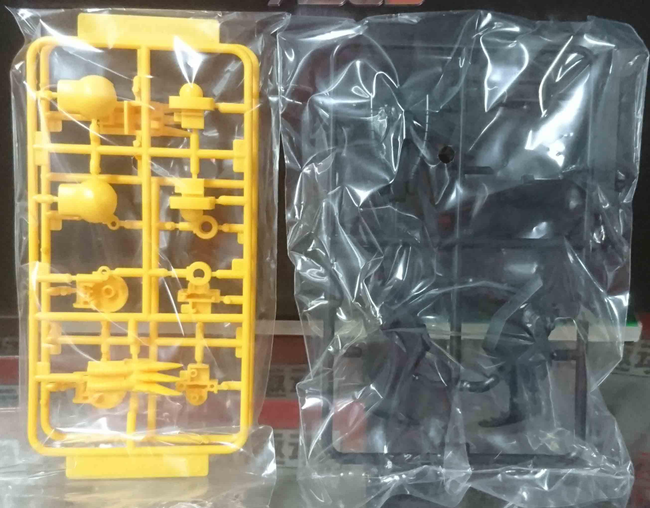 PLAMAX MS-03 邪虎丸,益祥模型玩具 零件實際拍攝照片。