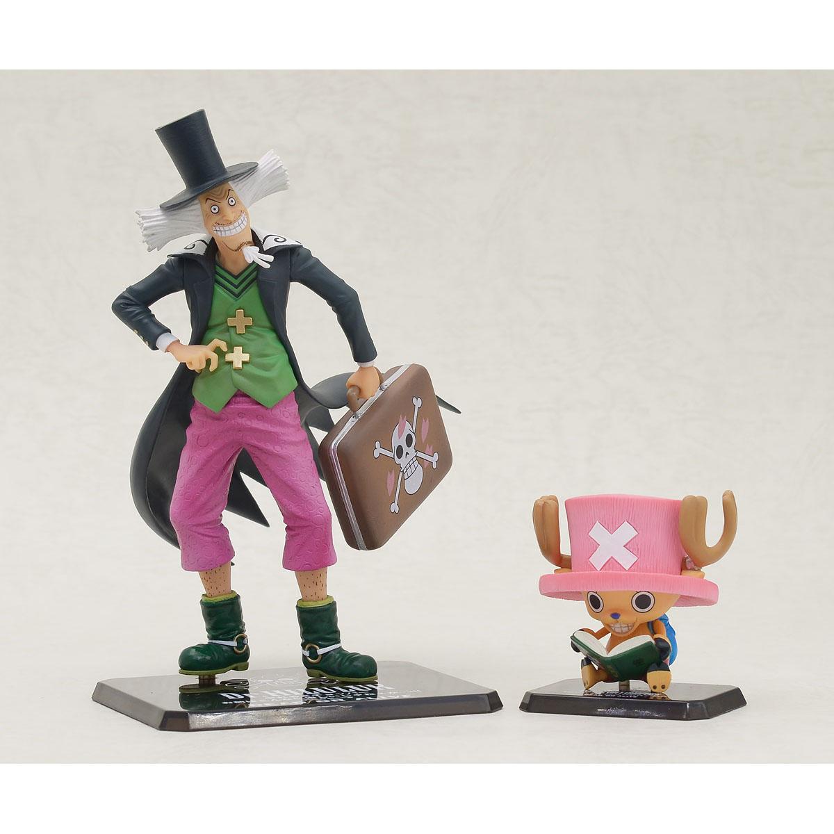 Figuarts Zero 海賊王 喬巴&Dr.西爾爾克,官方圖片。