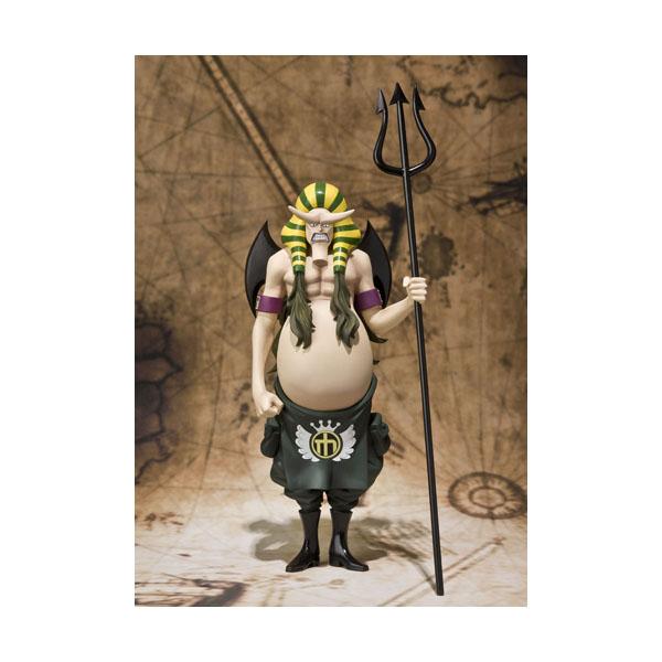 Figuarts Zero 海賊王 航海王 推進城監獄 般若拔 漢尼拔,官方圖片。