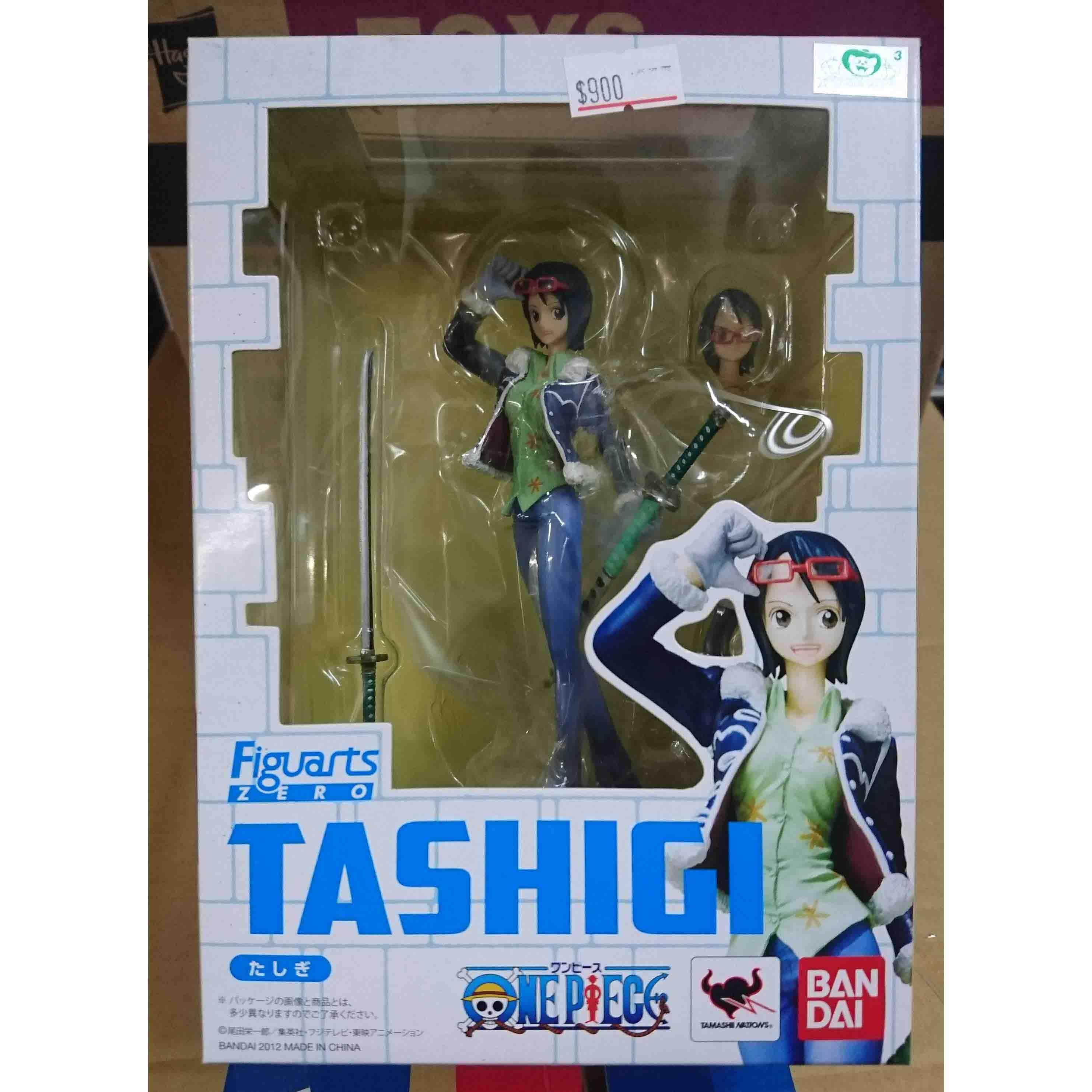 Figuarts Zero 航海王 達斯琪 TASHIGI,益祥模型玩具外盒實拍照片。