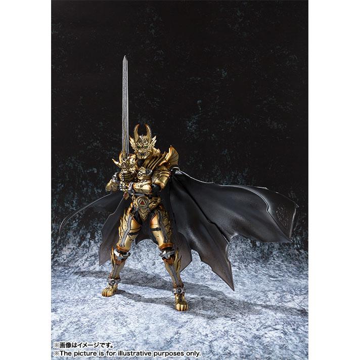 魔戒可動 黃金騎士 牙狼 GARO(冴島鋼牙),官方圖片。