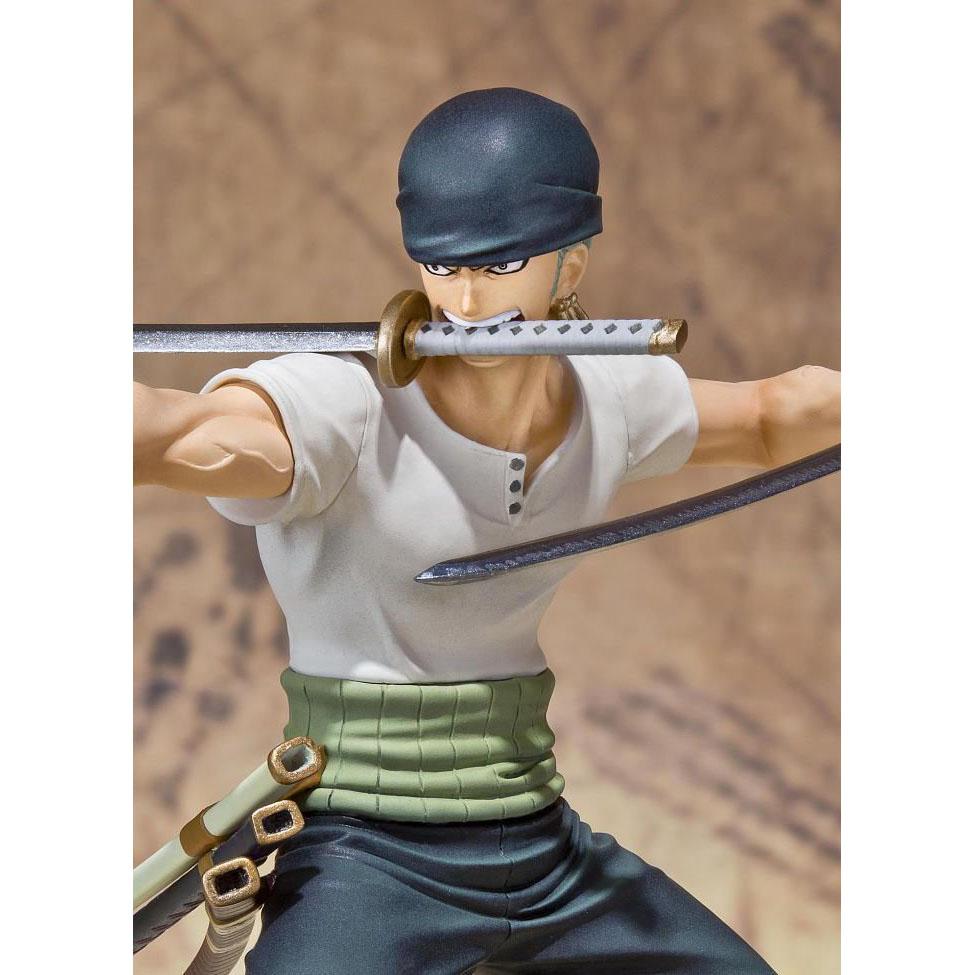 Figuarts Zero 羅羅亞 索隆 對戰版 Battle Ver.,官方圖片。