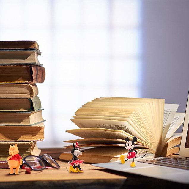 POLYGO 迪士尼 迷你可動公仔系列,官方意象圖。
