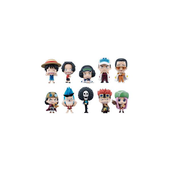 海賊王 航海王 Q版盒玩裝 第3彈 全10種 1中盒10入,官方宣傳圖。