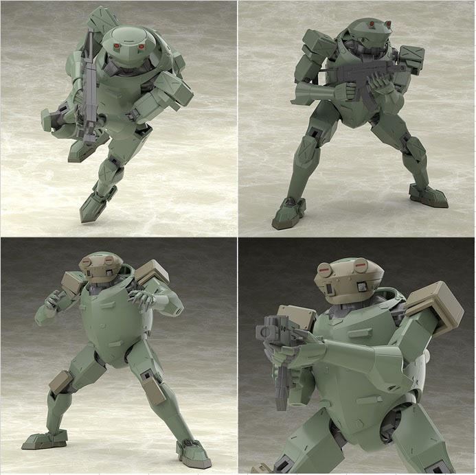 MODEROID Rk-91/92 野蠻人 展示圖片,益祥模型玩具排版。