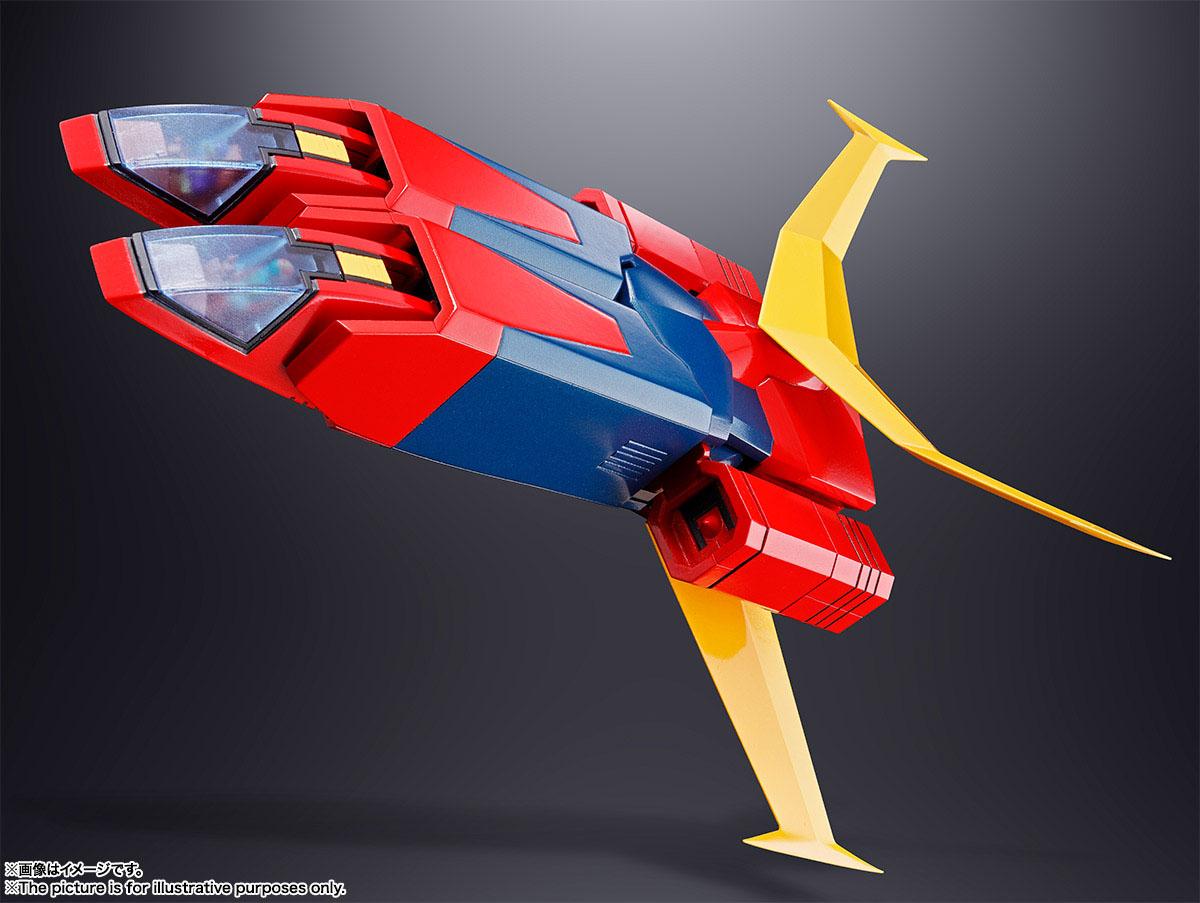 超合金魂 GX-81 無敵超人聖彼得,官方圖片。