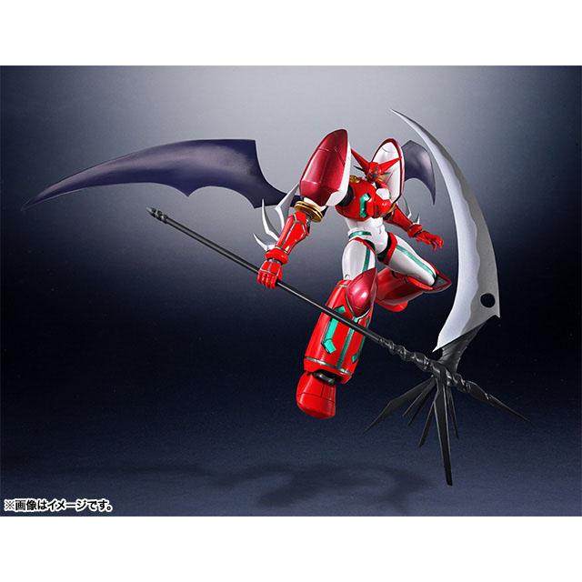 SR超合金 超級機器人超合金 真蓋特1 OVA版,官方圖片。
