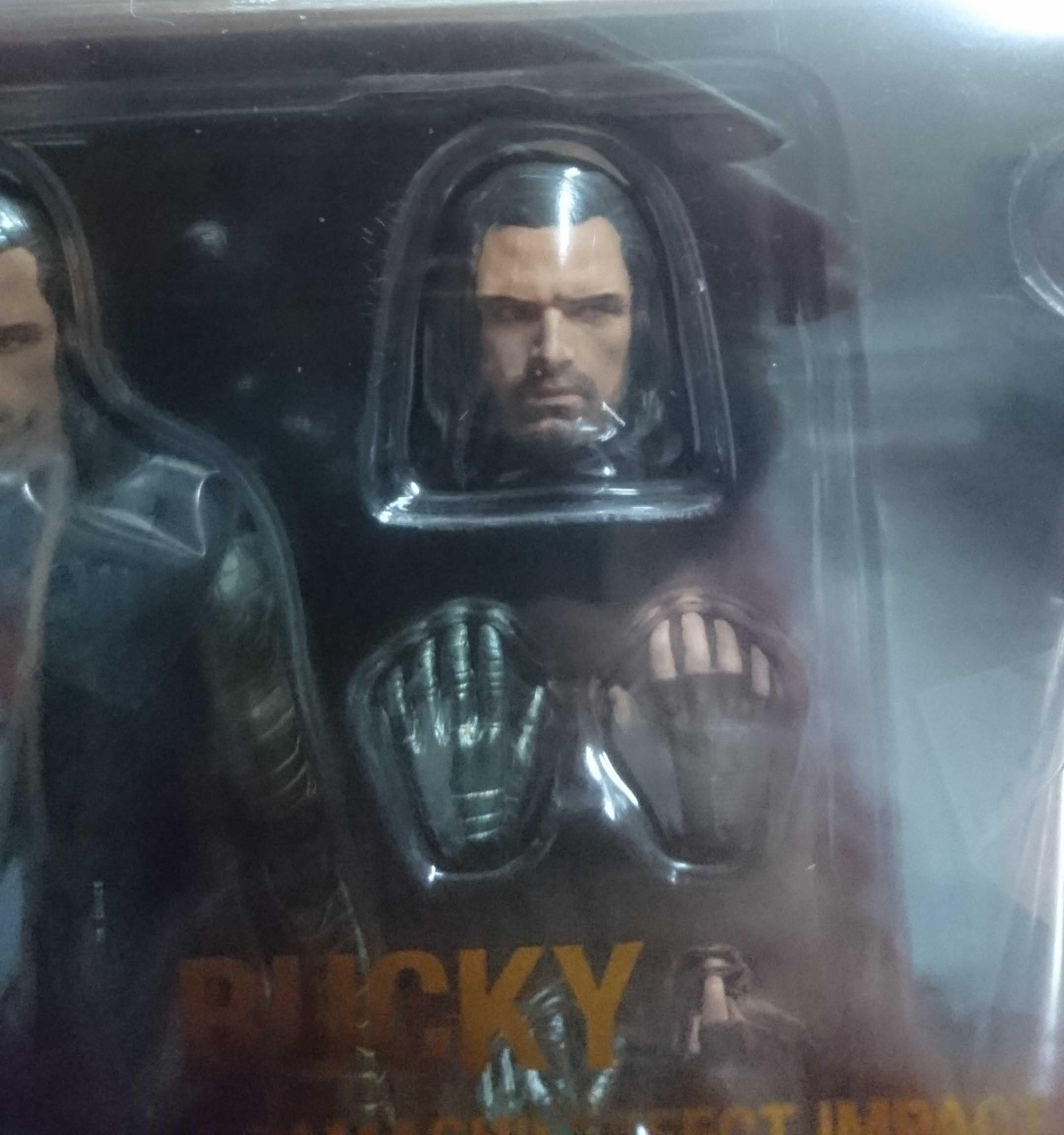 SHF 復仇者聯盟3 無限之戰 酷寒戰士 巴奇&魂 EFFECT IMPACT,益祥模型玩具外盒實際拍攝照片。