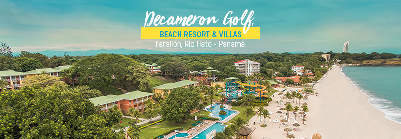 Today, the acquisition of the Decameron Golf, Beach Resort & Villas in Panama is official.