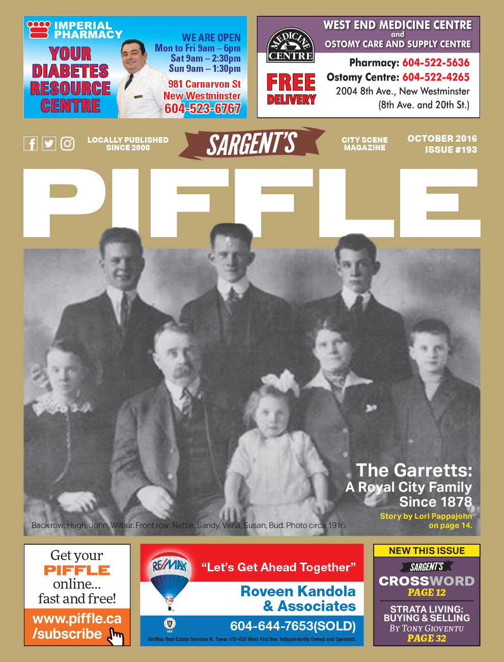 Piffle Cover 2016-10